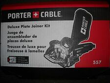 PORTER CABLE 557 Biscuit Joiner Plate Joiner New Electric Tool