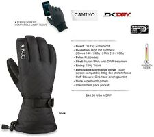 NEW Dakine Camino Black Womens Small Ski Snowboard Gloves Msrp$45