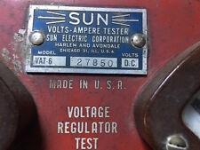 Sun volts ampere tester VAT-6 Amp and Voltage Alternator Tester