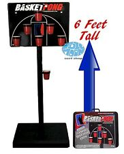 New Basket Ball Beer Tailgating Xtreme Pong Sports' Portable BasketPong Game