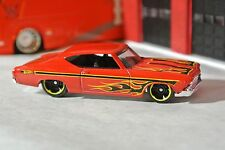 Hot Wheels '69 Chevy Chevelle SS 396 - Red w/ Flames - Loose - 1:64 - 2013