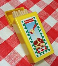 VINTAGE FISHER PRICE Pretend Fun With Play Food For little tikes Spaghetti Box
