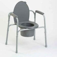 Invacare Heavy Duty All-in-One Aluminum Bedside Commode