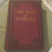 "VINTAGE 1919 VOLUME #8 ""BOOK OF KNOWLEDGE"" THE CHILDREN'S ENCYCLOPEDIA"