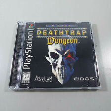 Deathtrap Dungeon - PS1 PS2 Playstation Game Complete (C100)