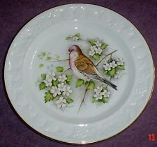 Palissy Royal Worcester Linnet 9 1/4 inch Plate