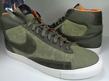 Nike Blazer Hi SP / Mowax Medium Olive Copper White QS SZ 10 (718768-208)