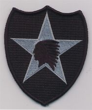 "4 1/2"" Subdued US ARMY ACU Tactical 2nd Infantry Division Patch"