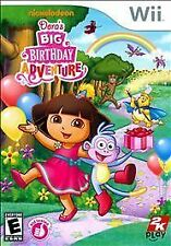 NINTENDO WII DORA'S BIG BIRTHDAY ADVENTURE BRAND NEW NICKELODEON VIDEO GAME