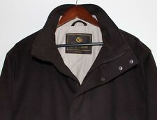 Loro Piana 100% Cashmere Storm System Dark Brown Jacket- Size XXL