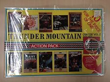 Commodore 64 C64 Game THUNDER MOUNTAIN ACTION PACK vol 2 10 Games Complete CIB