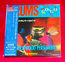 Hollywood Persuaders Drums A-Go-Go JAPAN MINI LP CD AIRAC-1356