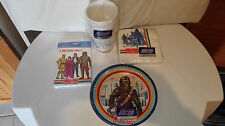 STAR WARS VINTAGE BIRTHDAY PARTY KIT / ANNIVERSAIRE / 1980 / ESB /100 % COMPLETE