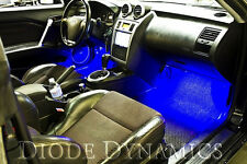 Diode Dynamics Universal BLUE LED Footwell Lighting Kit fits Honda Civic