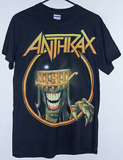 ANTHRAX 2013 DEATH DOWN UNDER AUSTRALIAN TOUR T-SHIRT SIZE: SMALL