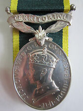 British Territorial Efficiency medal George VI - Pte. R. Ruse R.A.S.C.