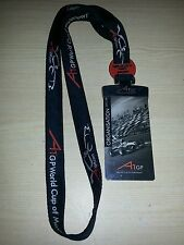 A1GP World Cup of Motorsport Lanyard Press Pass Grid Access 2007/08 FREE POSTAGE
