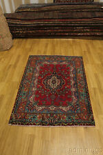Foyer Size Semi Antique Classic Tabriz Persian Oriental Area Rug Carpet Sale 4X6