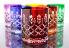 Römer Bleikristall Wisky Gläser 6 x, 240 ml,(298 CAR) farbig, Wiskyglas,24%PbO