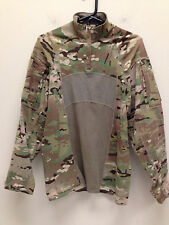 USGI MULTICAM ARMY ADVANCED ¼ ZIP COMBAT SHIRT FR MEDIUM NWOT MASSIF