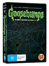 Goosebumps Complete Series Collection - Seasons 1 2 3 4 DVD Set 74 Episodes NEW