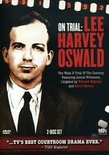 On Trial: Lee Harvey Oswald [2 Discs] (2008, DVD NEUF)2 DISC SET