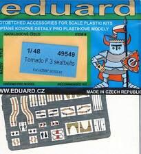 eduard 49549 Tornado F-3 Seatbelts Sitzgurte farbig Ätzteile 1:48 Modell-Bausatz
