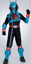 Power Rangers SPD Deluxe Shadow Police Captain Costume Size 4-6 S New Small 2005