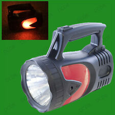 1 Million Candle Power Rechargeable LED Spot Light Torch Lantern, Dual Hazards