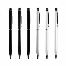 6X 2-in-1 Touch Screen Stylus + Ballpoint Pen IPad IPhone IPod Tablet Smartphone