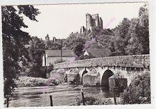 CPSM 41800 LAVARDIN Le château pont du Moyen Age Edt COMBIER