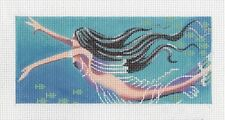 LEE Mermaid by Leigh Design ~ handpainted Needlepoint Canvas BB Insert