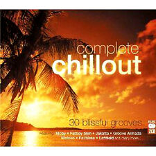 COMPLETE CHILLOUT 30 BLISSFUL GROOVES NEW 2 CD FATBOY GROOVE ARMADA JAKATTA +