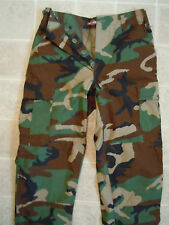 CAMO Military PANTS SM-Reg Woodland Camouflage Trousers Combat Army Cold Weather