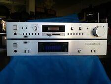 Amplificatore + Preamplificatore SANSUI B55 C55 Vintage HIFI Testati Funzionante