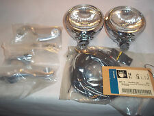Harley Passing Lamp Kit 41mm Dyna Wide Glide & Softail FXST Models 93-Later