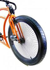 kit copertone gomma stradale bici street hog fat 26x3 custom cruiser + camera