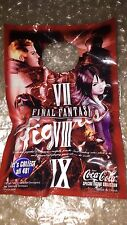 NEW 13x Final Fantasy VII VIII IX X Coca Cola Figure 7 8 9 10 XV 15