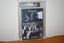 Resident Evil 3: Nemesis (Nintendo Gamecube) NEW SEALED, MINT GOLD VGA 85+ RARE!