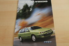 134933) Fiat Marea Weekend Prospekt 02/2001