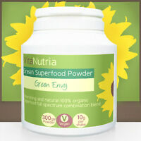 Organic Green Superfoods Natural Diet & Fitness Meal Replacement Shake Powder