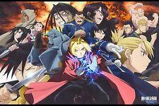 "Fullmetal Alchemist Brotherhood Edwards Anime Art Silk Wall Poster 12x18"" FM9.1"