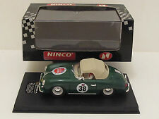 "Vintage NINCO 50126 Porsche 356A SPEEDSTER RAG TOP"" ENGLAND 1978 ""Slot Car 1/32"