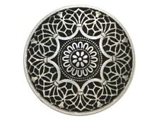 12 Safi 3/4 inch ( 20 mm ) Metal Buttons Antique Silver Color