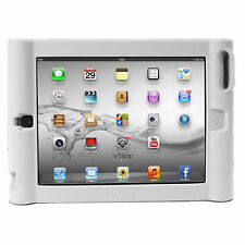 VIBE White iPad 1 / 2 / 3 / 4 Protective Silicone Kids Case Stand 4x AMPLIFIER
