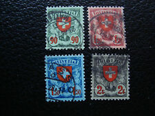 SUISSE - timbre yvert et tellier n° 208 a 211 obl (A20) stamp switzerland