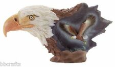 LARGE SHADOW BOX LIKE BALD EAGLE STATUE COLLECTIBLE - NEW IN BOX
