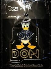 New on Card LE 500 D23 Donald Don Tron Sam Flynn Legacy Walt Disney Pin