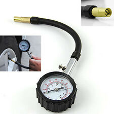 0-100PSI Car Truck Bike Auto Car Tyre Tire Air Pressure Gauge Dial Meter Tester