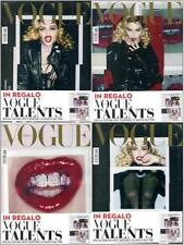 VOGUE Italy MADONNA  4 magazines SEALED collectors The Polaroid Issue by S KLEIN